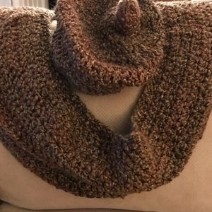 Infinity scarf and slouchy hat to match